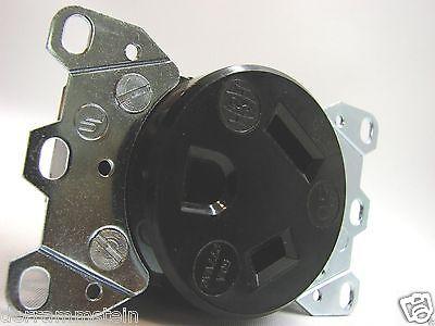 Arrow-Hart 5796 Vintage 2P/3W 277VAC 50A Spec Grade Receptacle 7-50R b58 4