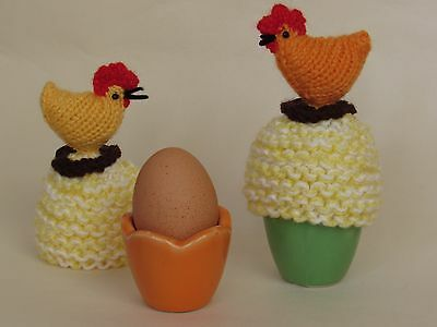 Teacosyfolk Chickens Tea Cosy And Egg Cosy Knitting Pattern To Knit