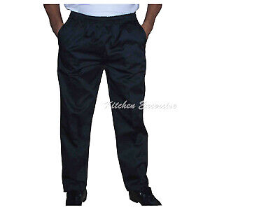 Chef Drawstring Pants, Black / Checkered Great Quality & Great Value! $12.00 2