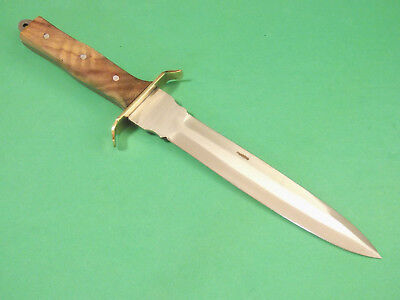 "FULL TANG DAGGER 203363 wood handle fixed blade knife 11 3/8"" overall PA3363 NEW 5"