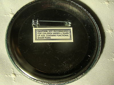 """1993 Enesco TREASURY OF CHRISTMAS ORNAMENTS 3/"""" Promotional Event Pin Back Button"""