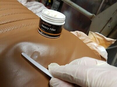 Leather Repair Filler: for filling holes, scuffs, scratches, cracking etc 2