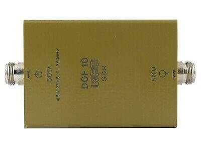 0-30MHz 20dB DGF10 DGF 10 Attenuator GDR RFT SMV11 SMV8.5 4