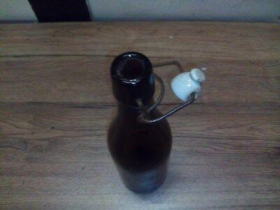 Alte Glas Bierflasche,Bügelverschlussflasche,Bierflasche 4