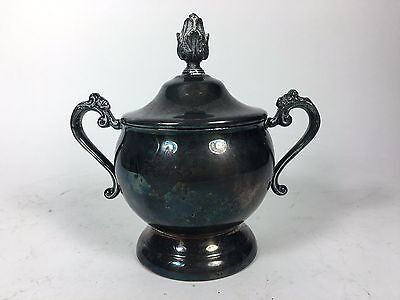 Gorham Newport Silverplate Coffee Tea Sugar Service 3 Piece 9