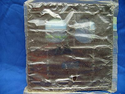NOS Sierra tuxedo style ribbed brown duplex switch/receptacle cover FREE SHIPPIN 2