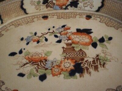 "Antique 1902 ""Peel"" Soho Pottery Limited Cobridge England Serving Platter 4"