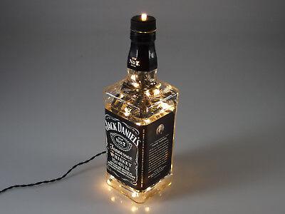 Jack Daniels - Flaschen Lampe mit 80 LEDs 220V Warm- UND Kalt-Weiß UMSCHALTBAR 9