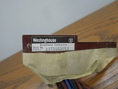 Westinghouse 1371D11G12 Auxiliary Switch for LC Frame Breakers USED