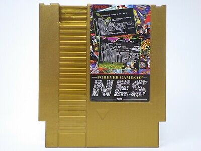 852 in 1 Forever Duo NES Games Nintendo Gold Cartridge Multi Cart 405 & 447 in 1 2