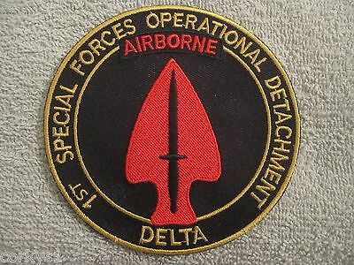 "1st Special Forces Operational Detachment ""Delta Force"" AIRBORNE US ARMY 2"