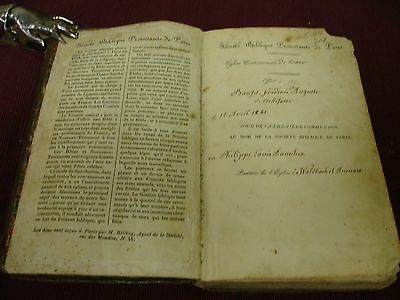 1840 French New Testament, Full Leather 2