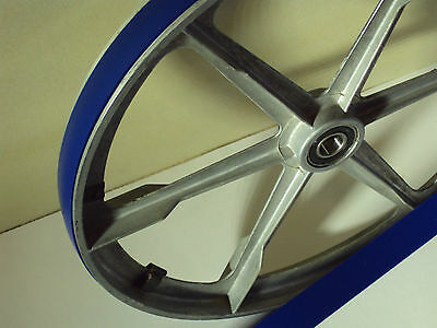 2 BLUE MAX ULTRA DUTY URETHANE BAND SAW TIRES FOR AMT 4112 BAND SAW