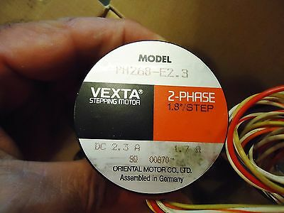 New Vexta 2-Phase Stepping Motor Ph268-E2.3 Indexing System For Delvotec Machine 3