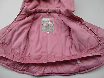 Bondi Jacke Winterjacke für Mädchen in Gr.98 Rosa 4
