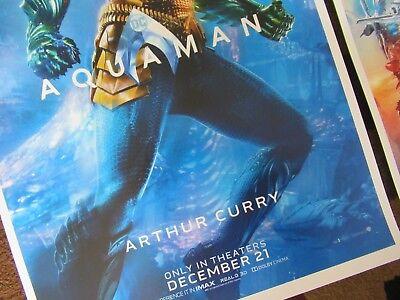 "AQUAMAN ( 11"" X 17"" ) Movie Collector's Poster Prints -( Set of 3 ) 2"