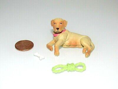 Hood Hounds Miniature Pet Dog For/Fits Dollhouse Mattel Size Doll 5