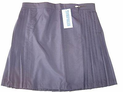 "GYMPHLEX 27 - 30"" Waist Girls/Ladies NAVY Gym Sports Skirt (kilt Style) - NEW! 2"