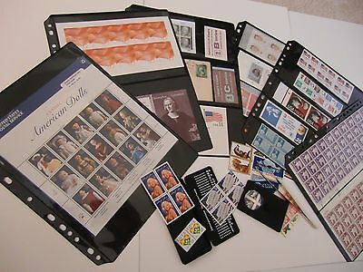 **ANCHOR 25 Stock Pages 1 S (1-Row) Stock Sheets/ Black sheets.(FREE SHIPPING).. 8