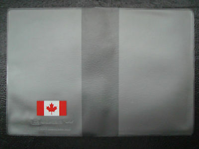 CANADA PASSPORT COVER  Clear Plastic Vinyl 4