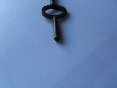 "Brass Carriage/Mantle Clock  Winding Key, 95mm Long (3.3/4"") 3"