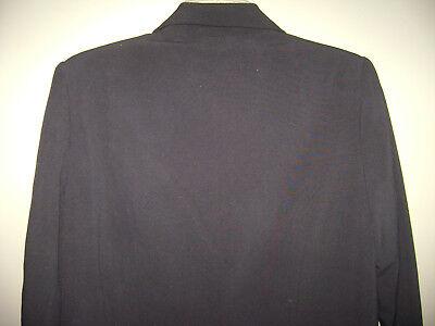LIZ LANGE MATERNITY STRETCH WOMENS BLAZER JACKET size 6 BLACK