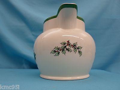 Spode Christmas Tree Water Sauce Jug 1-1/2 Pint with Original Box 5