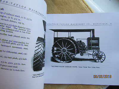 1910s Aultman Taylor Gasoline Traction Engine Catalog 3