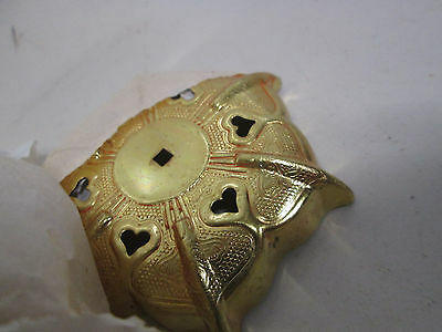 6 Kato Kogei Gold Colored Nail Head Covers for Decor Use NOS 6