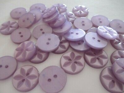 10 25 or 100 - Star Baby Round Resin Sewing Buttons - Size 18 22 26 - 11 Colours 6