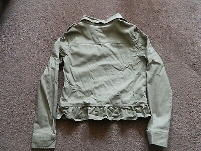 Girls Khaki Funky Jacket bought from USA, Epic Threads - L approx. age 10-11 yrs 3