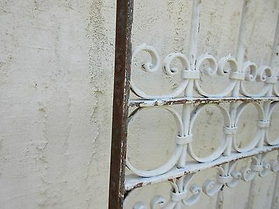 Antique Victorian Iron Gate Window Garden Fence Architectural Salvage #780 5