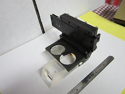 Microscope Leica Reichert Polyvar Prismes Assemblage Slide Optiques Bin #H3-06 6