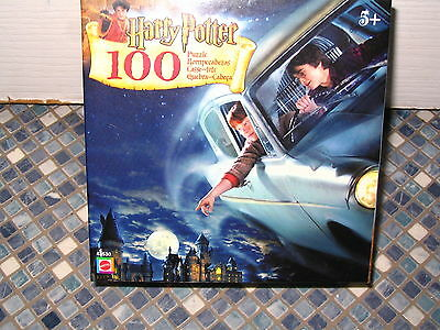 Harry Potter Flying Car 100 Piece Puzzle Mattel Brand New Collectable Very Rare 2