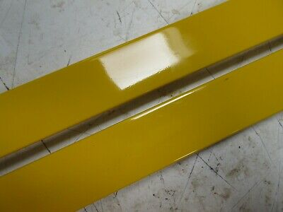 Bundle - 4 x 1m Lengths (4m) 35mm Yellow Polcore POL1005 Picture Frame Moulding 2