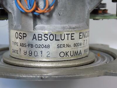 Okuma Osp Absolute Encoder Abs-Fb-D2048 2