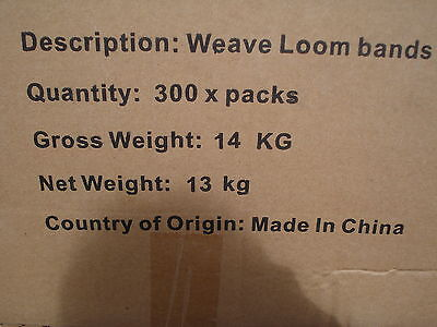Bulk Wholesale Joblot 40 Packs Of Loom Bands Liquidated Bankrupt Clearance Stock 4