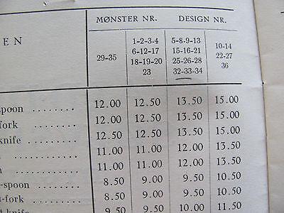 """Evald Nielsen Denmark Silver 830 - Pattern #33 - Cake-Fork/Pastry Server 6 5/8"""" 10"""