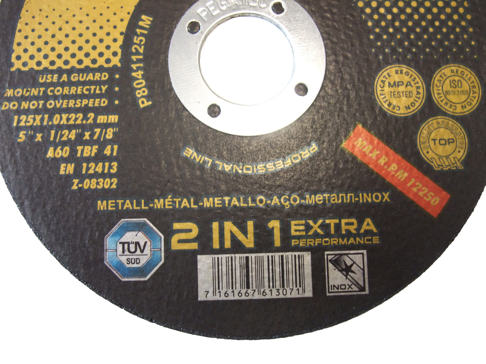 """Angle Grinder Cutting Discs Stainless Steel Cut Off Wheels Metal 5"""" & 9"""" inox 4"""