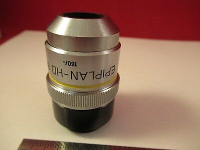 Zeiss Pol Objectif Epiplan HD 8x/160 Microscope Pièce comme sur Photo # 4