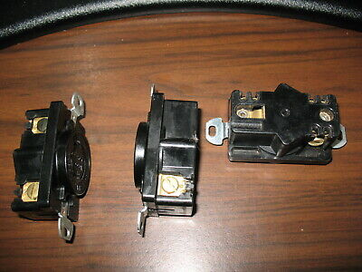 Lot of 3 Hubbell HBL2350 Nema L9-20 Single Receptacles (20A, 600V) 2