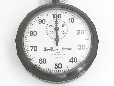 Hanhart Junior Stoppuhr,1 / 100 min,Mechanische,Stoppuhren,Stopper,Stopwatch