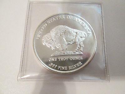 2013 Buffalo 1 oz. .999 Fine Silver Round Coin 2