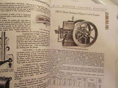 IHC International Harvester Gas Engine Catalog All sizes, hit miss, mags, pumps 4