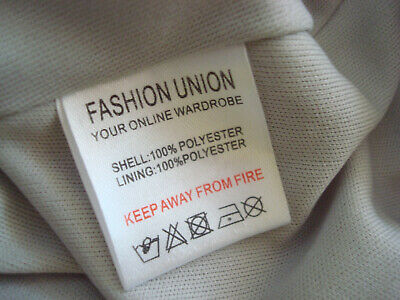 ~ UNION ~ Bib & Brace DUNGAREE TOP & PLEATED SKIRT Pinafore DRESS Grey 12 BNWT 9