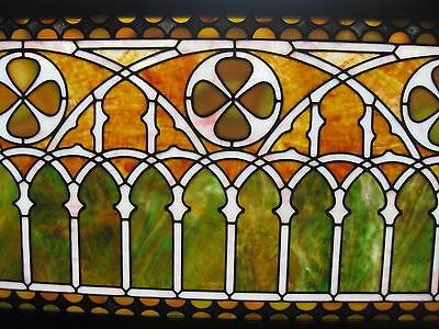 VICTORIAN STAINED GLASS  WINDOW  ca. 1880s 6
