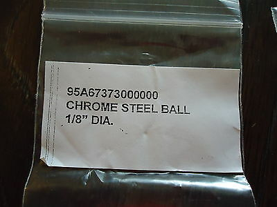 NEW RDM601 CHROME STEEL BALLS(17) & CUP PT. 10-24 x 1/4(17) #95A67373000000 & 95