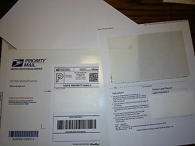 be69a87efa6db 250 LASER INK Jet Labels PayPal w/ Tear Off Receipt - Perfect for eBay  Postage!