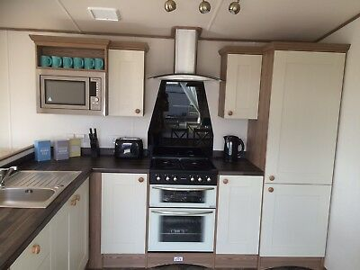 Static Caravan For Hire with private 'hot tub' at Sand Le Mere holiday village. 7