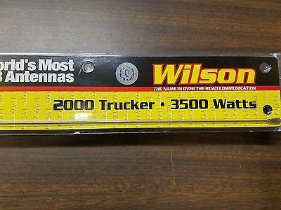 "T2000 CB Trucker Antenna with 10/"" Shaft Wilson® Antennas Clear// Black"